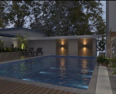 Aswimming pool